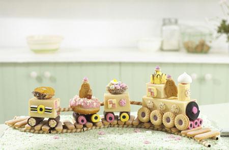 ایده عالی برای کیک تولد کودکان