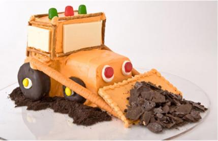 ایده جالب کیک تولد پسر