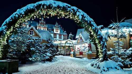 زیباترین جشن های کریسمس اروپا