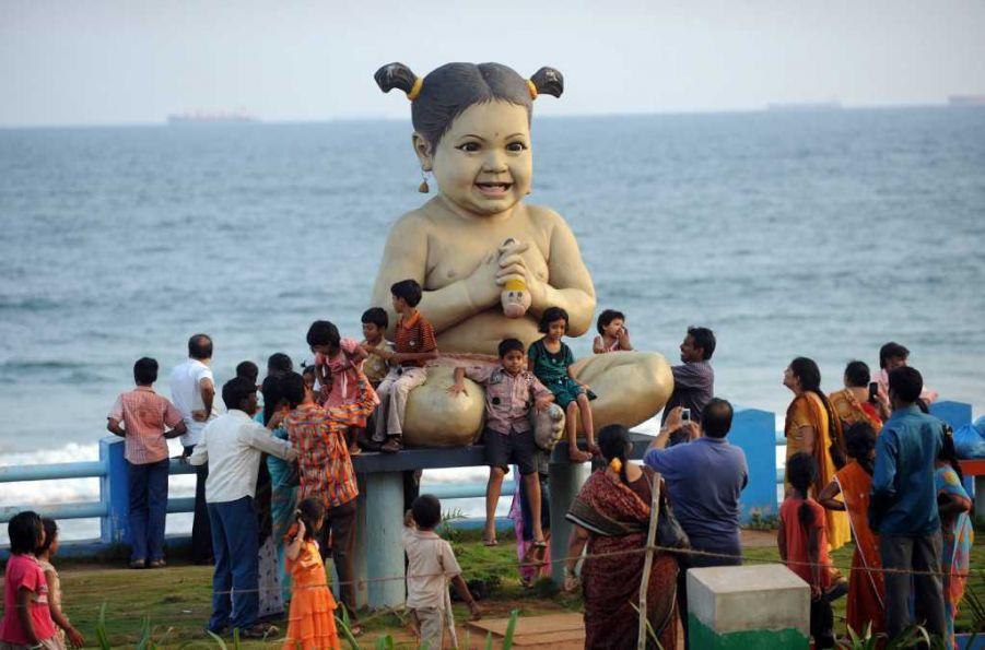 مجسمه عروسک، هند