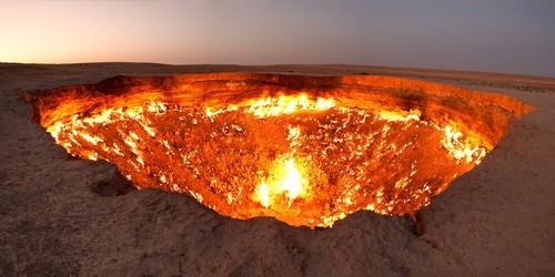 درب به جهنم - ترکمنستان