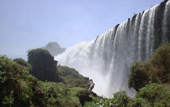 آبشار نیل آبی