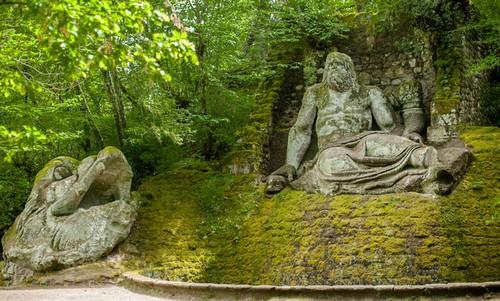 باغهای بومارزو - ایتالیا