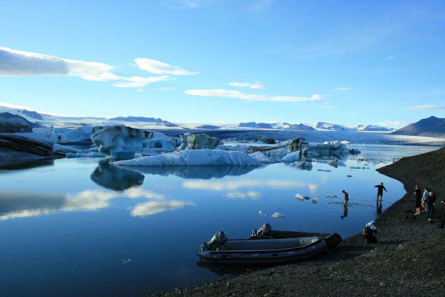 جزیره کریستال ایسلند