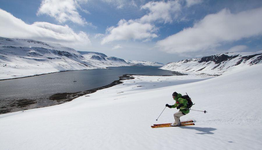 کوهنوردی و اسکی در ایسلند