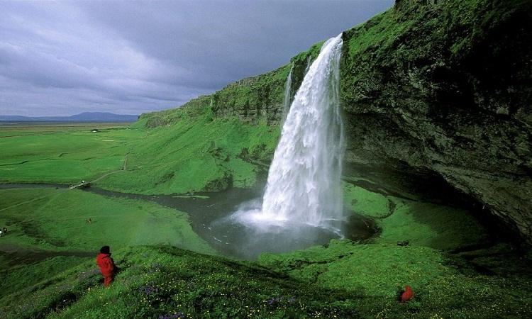 آبشار جزیره ایسلند