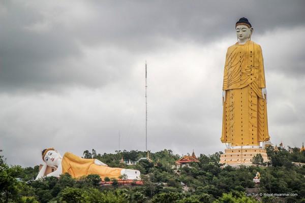 مجسمه Laykyun Sekkya بودا
