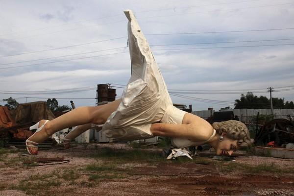 مجسمه مرلین برای همیشه Forever Marilyn