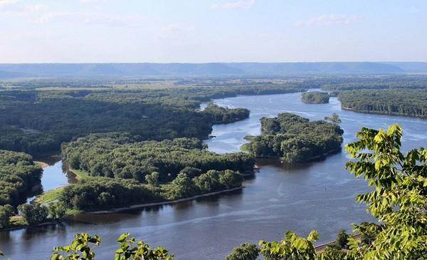 رودخانه Mississippi می سی سی پی