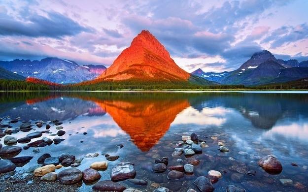کوه Grinnell - پارک ملی Glacier، مونتانا