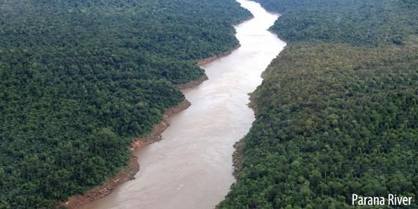 رودخانه پارانا Parana