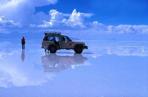 سالار د اویونی  Salar de Uyuni ، بولیوی