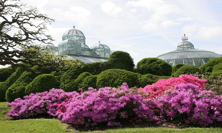 گلخانه های سلطنتی ( Laeken لکن - بلژیک )