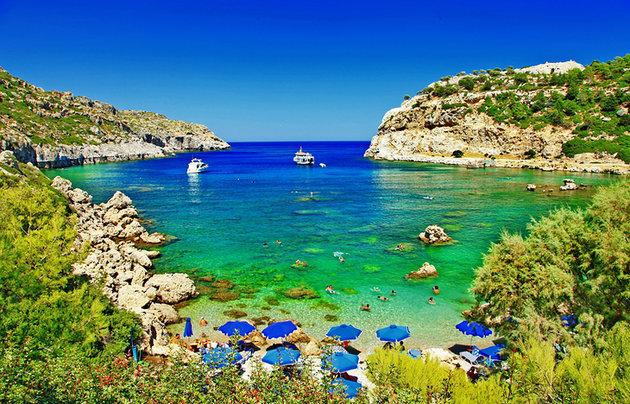زیباترین جزایر یونان