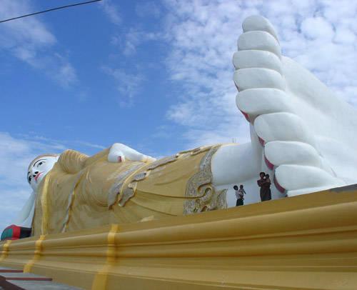 مجسمه بودا های بزرگ