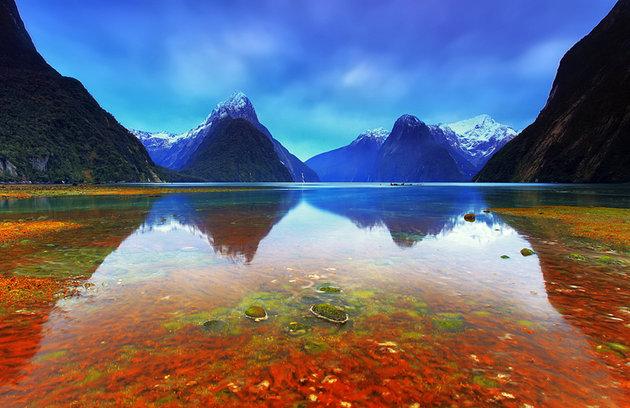 جاذبه های نیوزلند