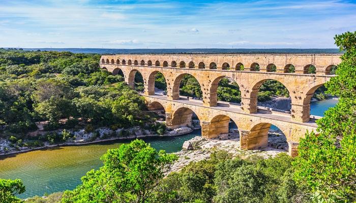پل Pont du Gard پونت دو گارد (گارد Gard - فرانسه)