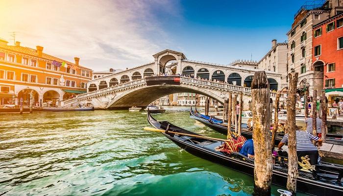 پل ریالتو (ونیز - ایتالیا)