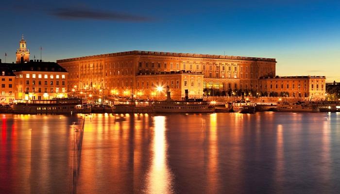 کاخ سلطنتی استکهلم (سوئد)