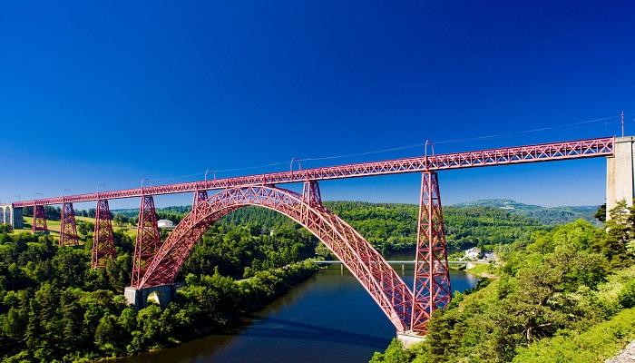 Garabit Viaduct (کانتال Cantal - فرانسه)