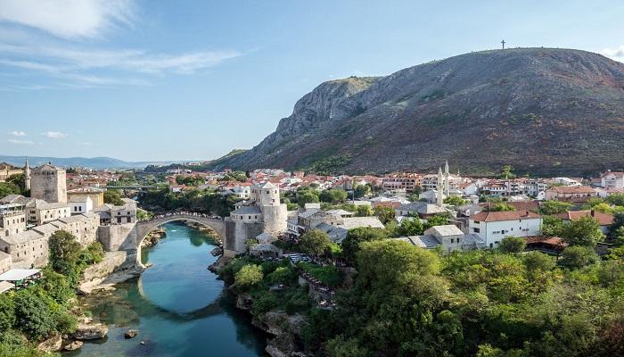 پل قدیمی (مارشار Mostar - بوسنی و هرزگوین)