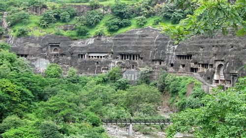 غار آجندا Ajanta Caves، هند