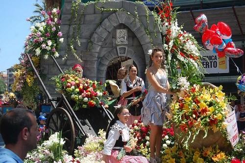 زیباترین جشنواره های گل دنیا