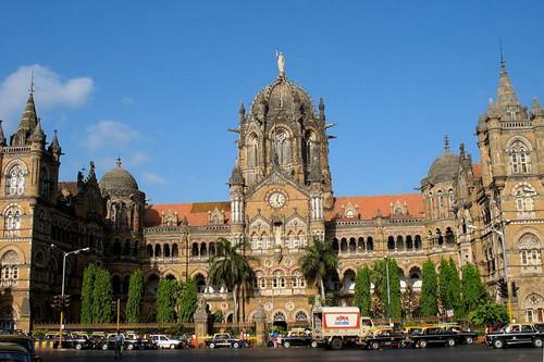 ایستگاه های راه آهن شگفت انگیز بمبئی