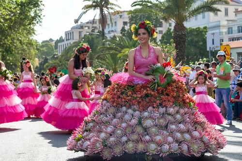 فستیوال گل، Madeira، پرتغال