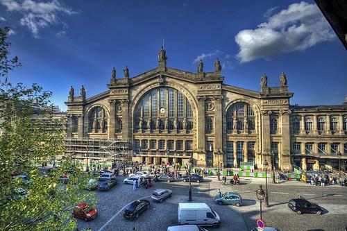 ایستگاه های راه آهن شگفت انگیز پاریس