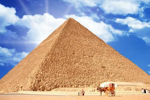 اهرام بزرگ جیزه، مصر
