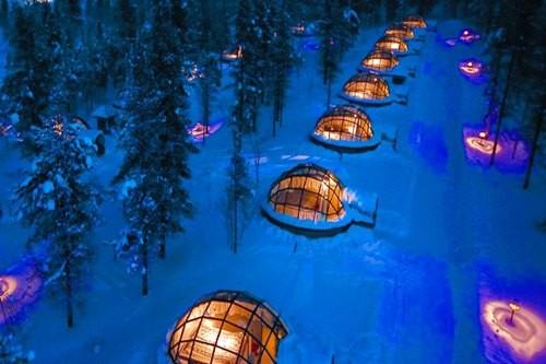 هتل یخی عجیب و غریب