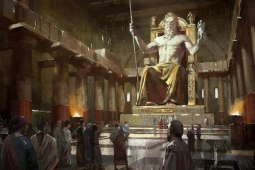 مجسمه زئوس Statue of Zeus ، یونان