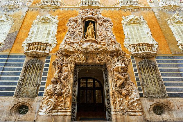spain valencia palacio del marques de dos aguas - جاهای دیدنی شهر والنسیا