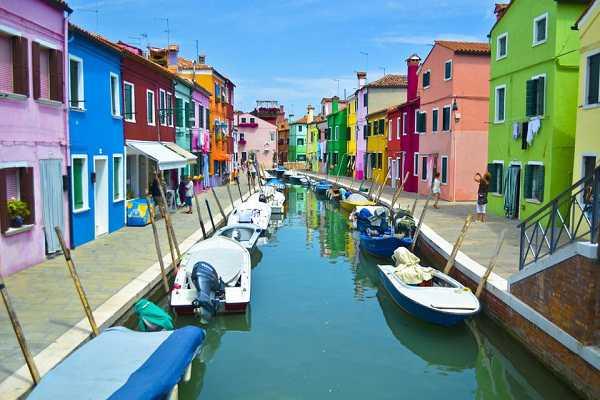 شهرهای رنگی جهان