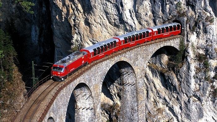 خط راه آهن Rhaetian