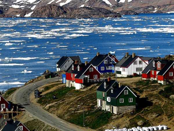 جاذبه گرینلند