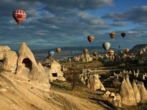 مکان های هیجان انگیز و دیدنی ترکیه