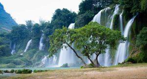 Ban Gioc چهارمین آبشار بزرگ مرزی دنیا