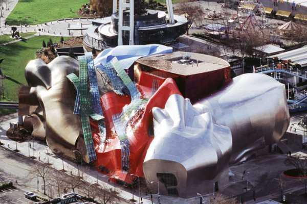 ساختمان (EMP) در سیاتل، WA