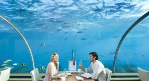 Ithaa رستوران و هتل زیر آبی مالدیو