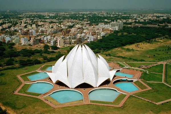 معبد لوتوس در دهلی هند