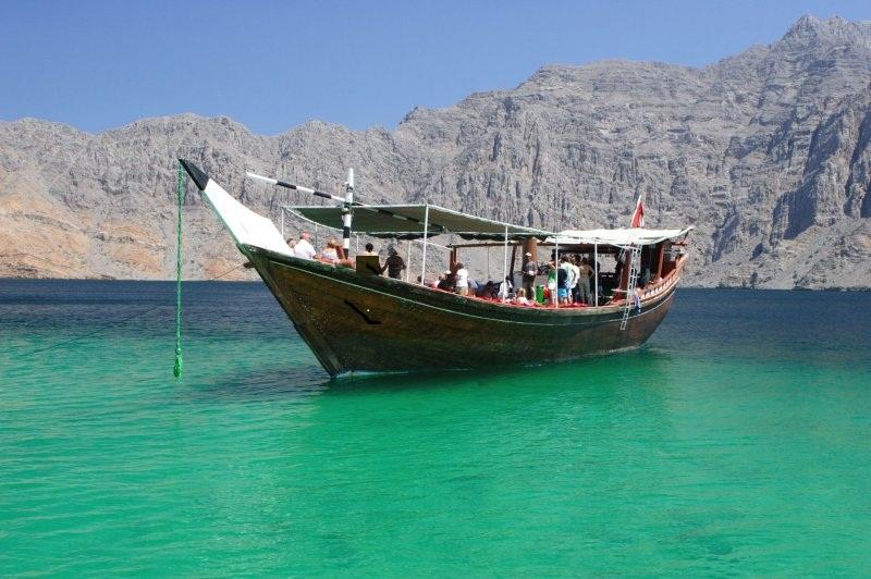 Musandam Fjords Oman 1 - جاذبه های گردشگری عمان