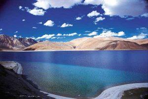 دریاچه Pangong Tso هیمالیا