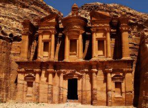 گزارش تصویری از شهر باستانی پترا در صحرای رز اردن