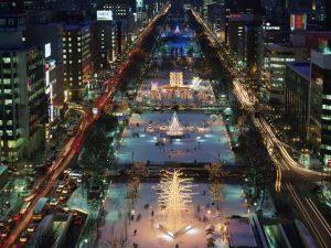جشنواره زمستانی شهر ساپورو ژاپن