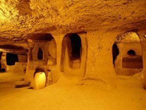 گزارش تصویری از شهر زیرزمینی باستانی، ترکیه