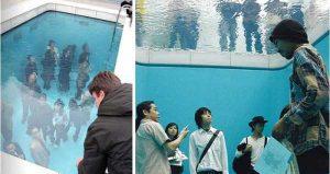 استخر شنای جعلی در ژاپن !