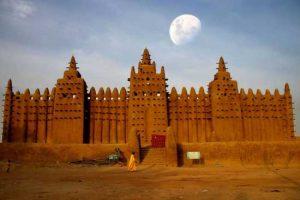 مسجد بزرگ و عجیب Djene درکشور مالی