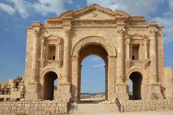شهر باستانی جرش اردن